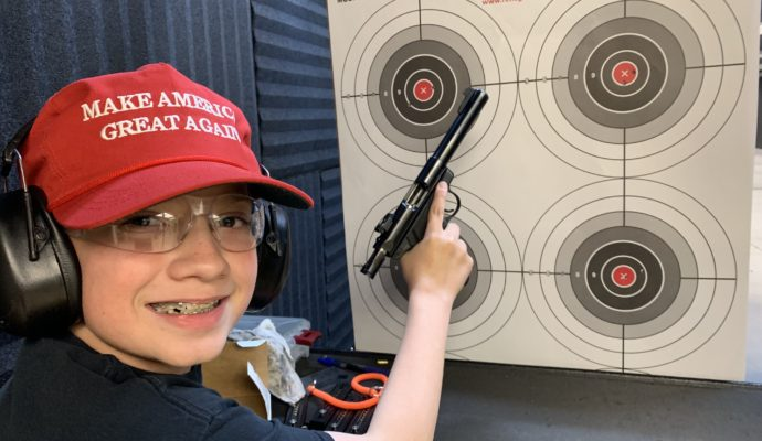 Youth shooter